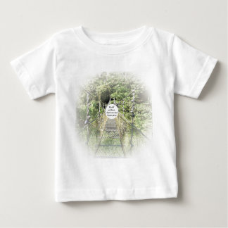 46:10 del salmo camiseta de bebé