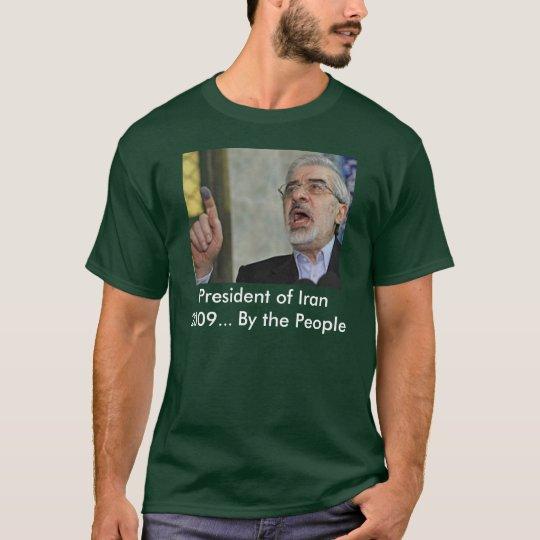 47700498, presidente de Irán 2009… Por la gente Camiseta