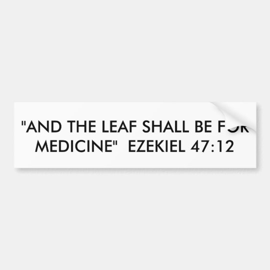 47:12 de EZEKIEL Pegatina Para Coche