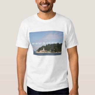49.o paralelo - camiseta del faro de Atkinson del