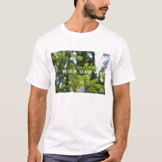 49.o paralelo - camiseta pacífica del parque del