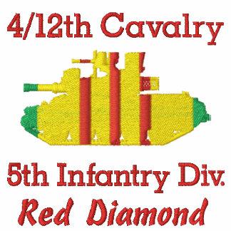 4/12o Caballería 5tos Inf. Div. Camisa de M551 She Polo