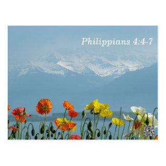 4:4 de los filipenses - tarjeta de memoria de 7