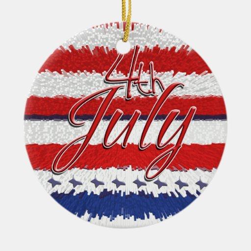 4 de julio acontecimientos patrióticos del Día de  Ornato