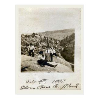 4 de julio de 1907 arco de plata, Montana Postal