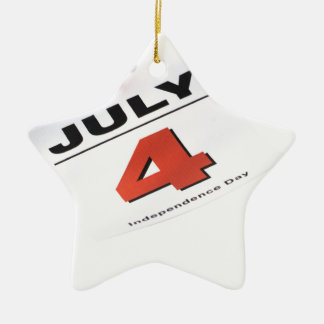 4 de julio Día de la Independencia Adornos