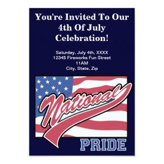 4 de julio invitaciones del fiesta invitacion personal