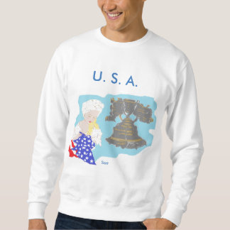 4 de julio la camiseta básica/los E.E.U.U. de los