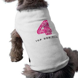 4-Lace-brightpink.png Camiseta Sin Mangas Para Perro