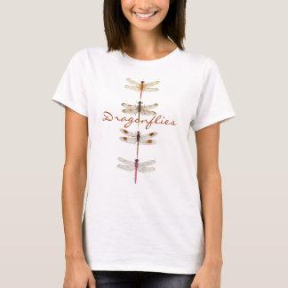 4 libélulas camiseta
