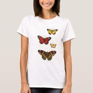 4 mariposas camiseta