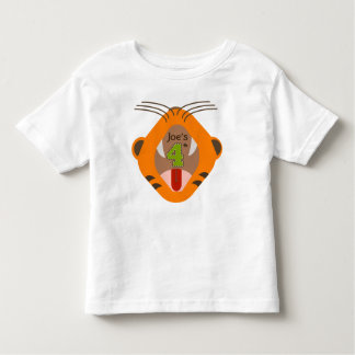 4to Camisa del rugido del tigre del cumpleaños