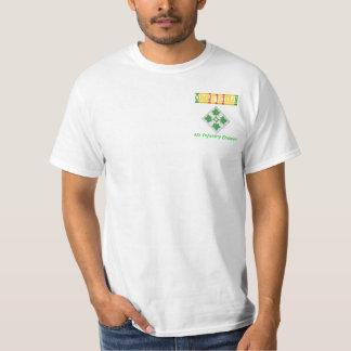 4to Camisa del veterano de Vietnam de la división