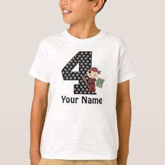 4to Camisa personalizada pirata de los muchachos