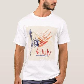 4to De la camisa patriótica de los hombres de la