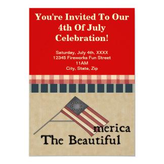 4to de las invitaciones del fiesta de julio invitaciones personales