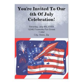 4to de las invitaciones del fiesta de julio invitacion personal