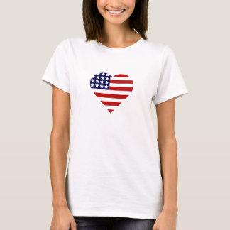 4to del corazón de julio camiseta