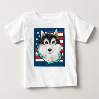 4to del Malamute de Alaska de julio Camiseta De Bebé