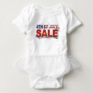 4to del texto de la venta de julio con confeti de body para bebé