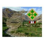 4to División de infantería Postales