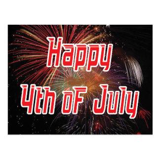 4to feliz de la postal de julio