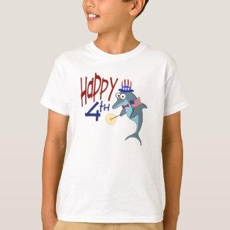 4to feliz del delfín de julio camiseta