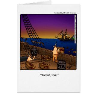 4to hilarante de la tarjeta de felicitación de