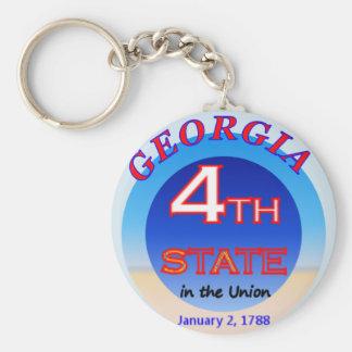4to llavero del estado de Georgia