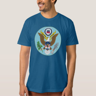 4to patriótico de la camiseta del republicano de