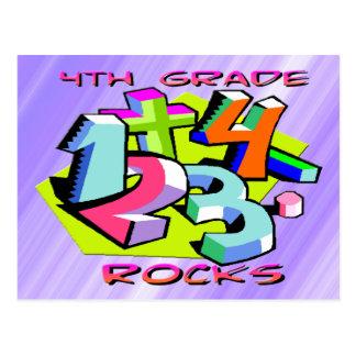 4to Rocas del grado - números Postal