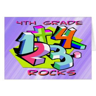 4to Rocas del grado - números Tarjeton