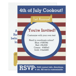 4to tradicional de la invitación de julio