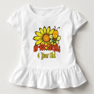 4tos regalos de cumpleaños de la diversión camiseta de bebé