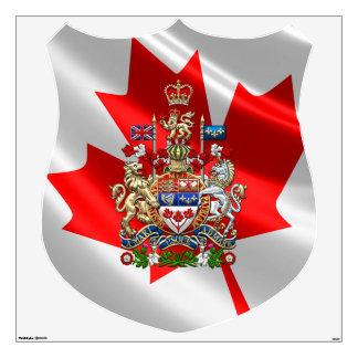 [500] Escudo de armas de Canadá [3D]
