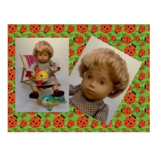 501 Sasha bebé Sandy Dress tarjeta postal