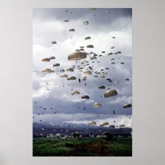 501o Infantería de Para Posters