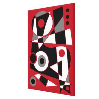 #505 abstracto impresión en lienzo
