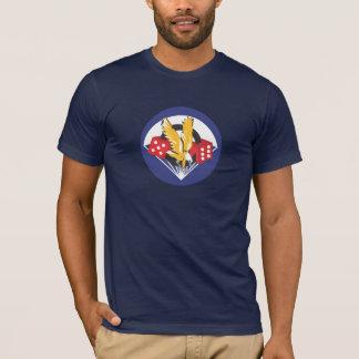 506o Camisetas del remiendo del bolsillo de PIR