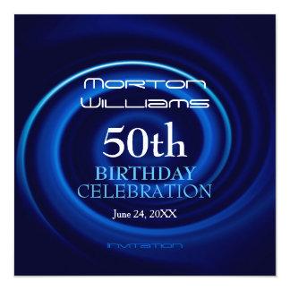 50.a invitación de la celebración del cumpleaños