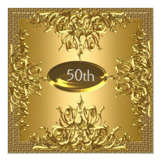 50.a invitación de la fiesta de aniversario del