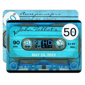 50.a invitación de la fiesta de cumpleaños de la