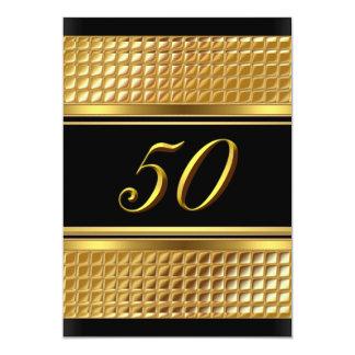 50.a invitación del oro y de la fiesta de
