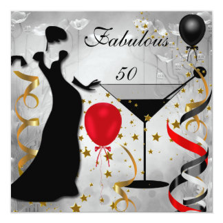 50.a señora Red de Deco de la fiesta de cumpleaños