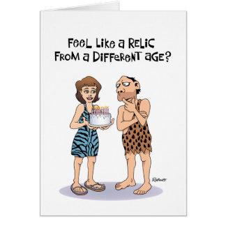 50.a tarjeta de cumpleaños divertida para los homb