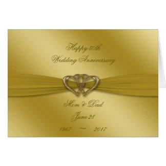 50.a tarjeta de oro clásica del aniversario de