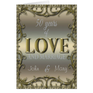 50 años de amor felicitacion