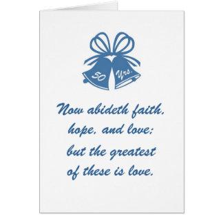 50 años de amor tarjeta de felicitación