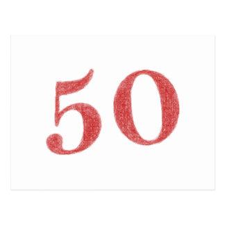 50 años de aniversario postal