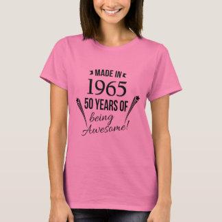 50 años de ser camiseta impresionante